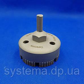 Сверло алмазное сегментное турбо д. 70 мм по керамограниту и керамике DISTAR DDS-W 70x47-7 S10 Ceramics, фото 2