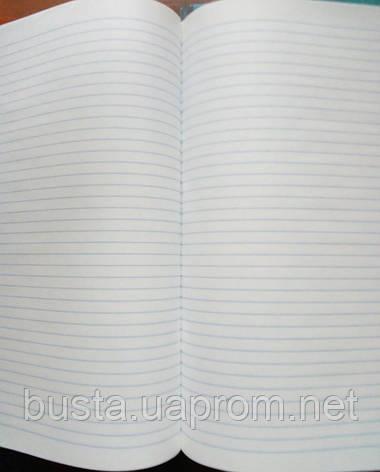 Тетрадь А4 Кожа 160л линия, фото 2