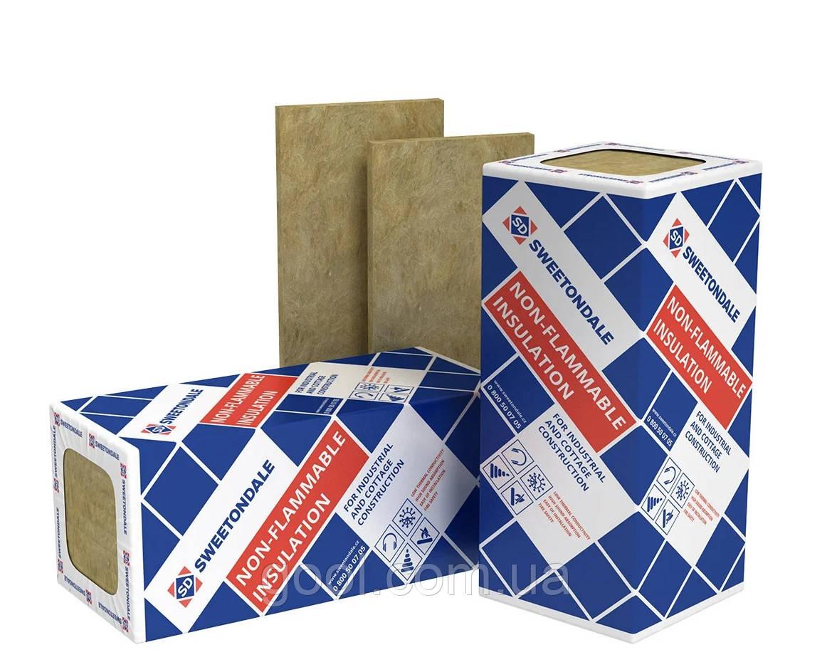 Технониколь (Sweetondale) Технофас ЭФФЕКТ вата для фасада 1200х600х50 мм плот. 135 кг/м3 в упаковке 2,88 м2