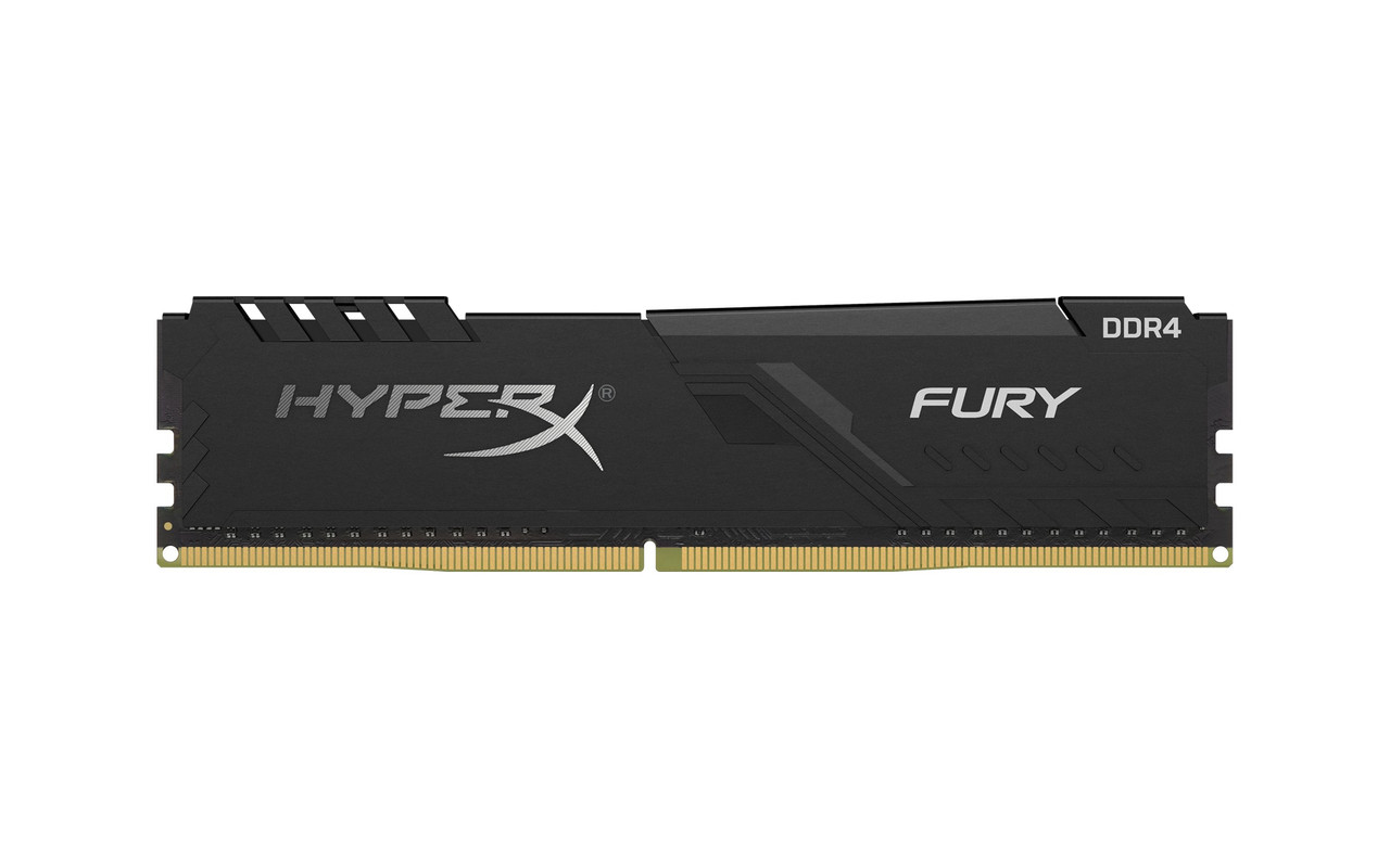 Модуль памяти DDR4 8GB/3733 Kingston HyperX Fury Black (HX437C19FB3/8)