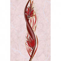 Декор 20х30 Александрія рожевий В15361