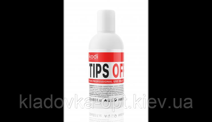 Жидкость для снятия гель-лака/акрила TIPS OFF Kodi, 500 ml, фото 2