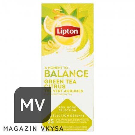 """Чай зелёный с цитрусом ТМ """"Lipton"""" 25 пакетиков"""