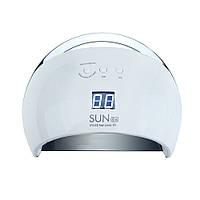LED+UV лампа для маникюра SUN 6 48W Белая SMART 2.0