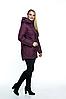 Демисезонная женская куртка с капюшоном размеры 50-66, фото 2