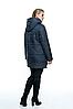 Демисезонная женская куртка с капюшоном размеры 50-66, фото 7