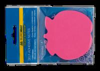 Блок для заметок яблоко, 50л., неон ассорти BUROMAX BM.2360-99