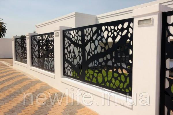 Декоративные ограды для сада