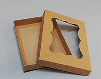 Упаковка для пряников 200*150*30 (бурая)