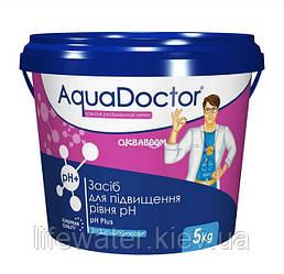 Средство для повышения уровня pH в гранулах AquaDoctor pH Plus (5кг)