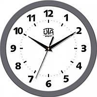 Часы настенные UTA Smart 265 х 265 х 35 мм с серым ободом