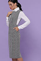 Жіночий сарафан в офісному стилі Розміри S, фото 3