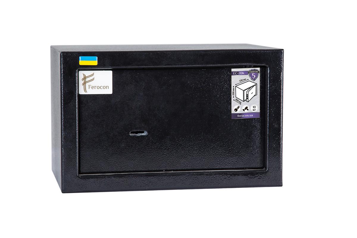 Мебельный сейф ЕС-20К.9005