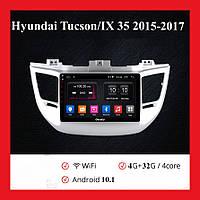"""Штатка на Hyundai Tucson/IX 35 2015-2017 (9"""") Android 10.1 (4/32)"""