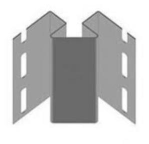 Кут внутрішній taupe 3,05м (RoJal)