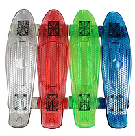 Детский Скейт BT-YSB-0051 прозрачный iii