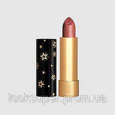 Помада для губ  с эффектом металлик Gucci  Rouge à Lèvres Gothique Lipstick 408 Norma Pink