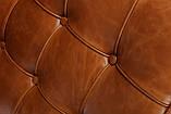 КРЕСЛО BARCELONA CHAIR  КОЖА Светло коричневая vintage, фото 2