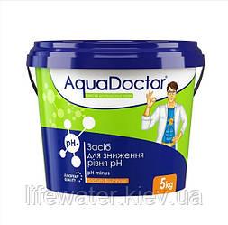 Средство для снижения уровня pH гранулы AquaDoctor pH Minus (5кг)