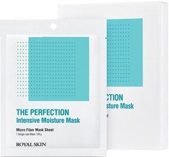 Зволожуюча маска з мікрофібри ROYAL SKIN THE PERFECTION Intensive Moisture Mask 1шт (до 04.09.2021)