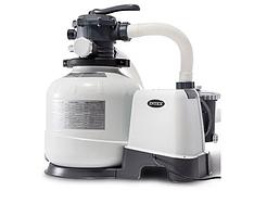 Песочный фильтр насос, Электронная  система самоотключения Intex 26648, 10 000 л\ч iii