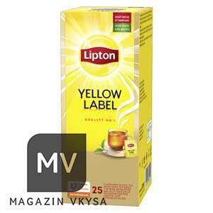 """Чай чёрный ТМ """"Lipton"""" 25 пакетиков"""