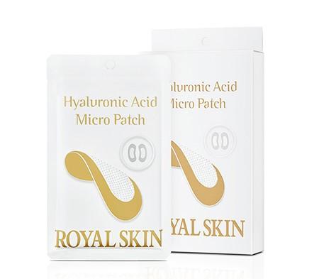Гіалуронові мезо-патчі з микроиглами ROYAL SKIN Hyaluronic Acid Micro Patch 1 пара
