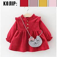 Плаття детское 2 варианта (простое и утепленное)+, фото 1