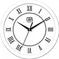 Часы настенные UTA Smart 265 х 265 х 35 мм с белым ободом