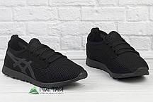 Кросівки чоловічі сітка чорні 40р, фото 2