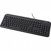 Клавиатура Gembird KB-U-103-UA black