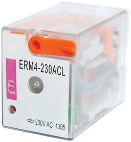 Реле промежуточное ETI ERM2-024ACL 2P 24V AC 12А LED 2473003 (электромеханическое)