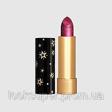Помада для губ  с эффектом металлик Gucci  Rouge à Lèvres Gothique Lipstick 409 Billie Magenta