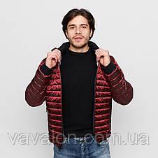 Куртка демисезонная Vavalon KD-191 Bordo, фото 2