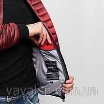 Куртка демисезонная Vavalon KD-191 Bordo, фото 3