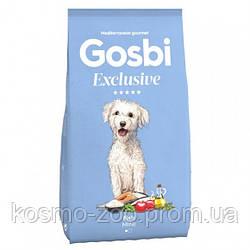 Сухой корм Gosbi Exclusive Fish Mini 7 кг, для собак мелких пород