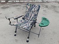 Рыболовное карповое  кресло Elektrostatyk F5R ST/P камуфляж (Польша)
