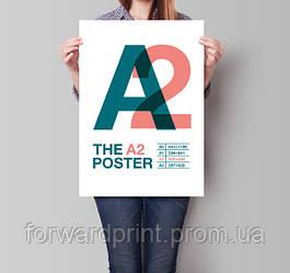 Друк постерів А2