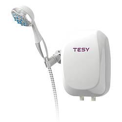 Водонагреватель Tesy проточный 5,0 кВт с душевой лейкой IWH50X02BAH