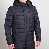 Весенняя удлиненная мужская куртка (50-64рр)