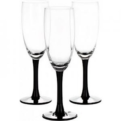Бокал для шампанского 170 мл 3 шт Clarity Libbey 31-225-092