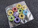 Буква О цветная для наборного именного браслета 10 шт/уп., фото 2