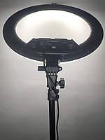 KY-BK416 45 см / 65 Вт Кольцевая лампа со ШТАТИВом регулировка высоты Кольцевой светвизажиста
