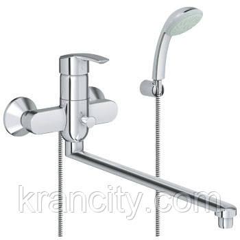 Смеситель для ванны GROHE MULTIFORM 32708000,кран с длинным гусаком