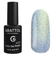 Гель-лак для ногтей Grattol Quartz 03, 9 мл