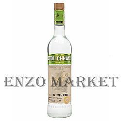 Водка Stolichnaya Gluten Free (Столичная без глютена) 40%, 1 литр