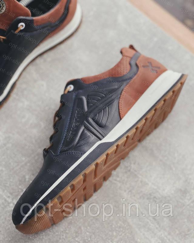 Мужские кожаные кроссовки купить