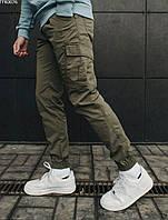 Чоловічі штани Staff cargo khaki modern