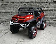 Детский электромобиль Buggy  Mercedes-Benz UNIMOG M 4133EBLRS-3, бордо