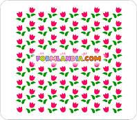 Набор Трафаретов для пряников Тюльпаны
